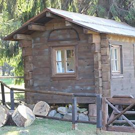 Hochzeitshütte / Jagdhütte an der Taufsteinhütte