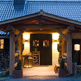 Taufsteinhütte - Eingang